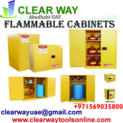 FLAMMABLE CABINETS IN MUSSAFAH , ABUDHABI ,UAE from CLEAR WAY BUILDING MATERIALS TRADING