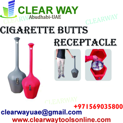 CIGARETTE BUTTS RECEPTACLE DEALER IN MUSSAFAH , ABUDHABI , UAE from CLEAR WAY BUILDING MATERIALS TRADING