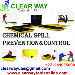 CHEMICAL SPILL PREVENTION AND CONTROL from CLEAR WAY BUILDING MATERIALS TRADING