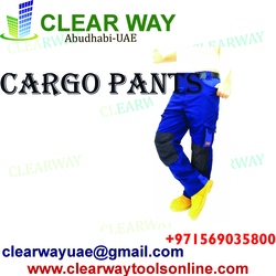 CARGO PANTS DEALER IN MUSSAFAH , ABUDHABI ,UAE from CLEAR WAY BUILDING MATERIALS TRADING
