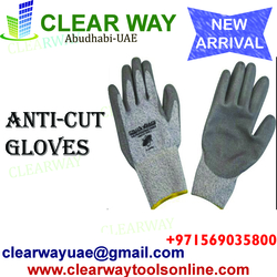 ANTI-CUT GLOVES DEALER IN MUSSAFAH , ABUDHABI ,UAE from CLEAR WAY BUILDING MATERIALS TRADING