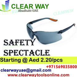 SAFETY SPECTACLES DEALER IN MUSSAFAH , ABUDHABI , UAE