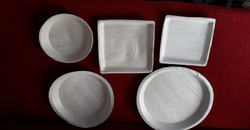 Palm Leaf Plates from AERODYNAMIC TRADING CONTRACTING & SERVICES , QATAR / TELE : 33190803 / SARATH@AERODYNAMIC.QA
