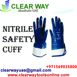 NITRILE SAFETY CUFF DEALER IN MUSSAFAH , ABUDHABI ,UAE from CLEAR WAY BUILDING MATERIALS TRADING