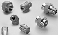 Forged Threaded Pipe Fittings from AMARDEEP STEEL CENTRE