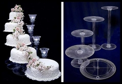 ACRYLIC CAKE STAND UAE  from FABRICON INTERNATIONAL
