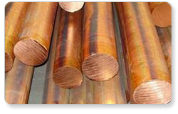 Oxygen Free Copper Round Bar from SUGYA STEELS