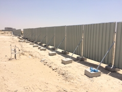 Construction Site Temporary Fence Hoarding Panel Supplier  from DANA GROUP UAE-OMAN-SAUDI