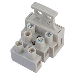 TruConnect 3 Pole Fused Terminal Block suppliers in Qatar from AERODYNAMIC TRADING CONTRACTING & SERVICES , QATAR / TELE : 33190803 / SARATH@AERODYNAMIC.QA