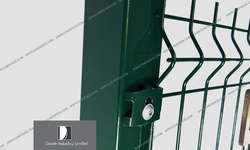 Galvanized or PVC Coated Welded Fence for Safety Protection