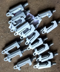 Quick Release Pressure Vessel Clamps / Glass lined Reactor Clamps