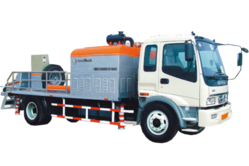 Boomtech  Motor Engine Trailer Concrete Pump  Dubai from HOUSE OF EQUIPMENT