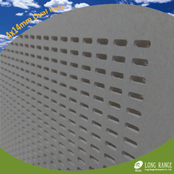 Perforated slotted gypsum board  from LONG RANGE ENTERPRISE CO., LTD.
