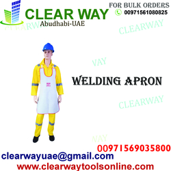 WELDING APRON DEALER IN MUSSAFAH , ABUDHABI ,UAE from CLEAR WAY BUILDING MATERIALS TRADING