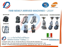 Tmb New Range of Cleaning Machines Suppl ...