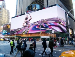 HD LED Video Display Wall For Outddoor Advertising,High Brightness, HD Image Quality, Remote Control