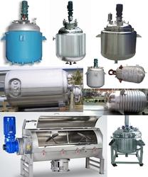 Stainless Steel Liquid Blending Tanks