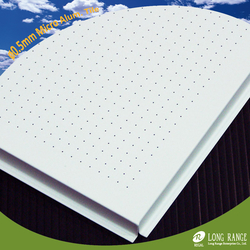 0.5mm dia. Micro Perforation Aluminium ceiling tile from LONG RANGE ENTERPRISE CO., LTD.