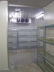 Cold Store Strip curtain in Qatar from AERODYNAMIC TRADING CONTRACTING & SERVICES , QATAR / TELE : 33190803 / SARATH@AERODYNAMIC.QA