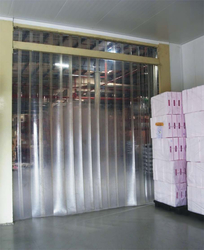 Strip Curtain distributor in Qatar from AERODYNAMIC TRADING CONTRACTING & SERVICES , QATAR / TELE : 33190803 / SARATH@AERODYNAMIC.QA