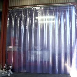 Plastic Sheet Door Curtain from AERODYNAMIC TRADING CONTRACTING & SERVICES , QATAR / TELE : 33190803 / SARATH@AERODYNAMIC.QA