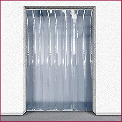 Plastic Sheet Door Curtain installation company in Qatar