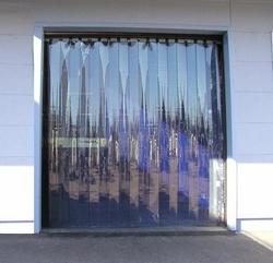 Transparent Clear Blue curtain in Qatar