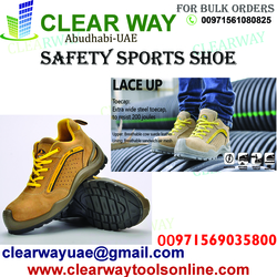 SAFETY SPORTS SHOE DEALER IN MUSSAFAH , ABUDHABI ,UAE from CLEAR WAY BUILDING MATERIALS TRADING