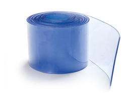 Transparent Blue PVC Strip Rolls in Qatar from AERODYNAMIC TRADING CONTRACTING & SERVICES , QATAR / TELE : 33190803 / SARATH@AERODYNAMIC.QA