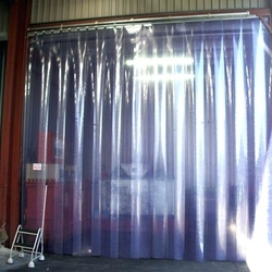 Plastic PVC Strip Curtain Roll installation company in Qatar