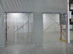 Transparent PVC Strip in Qatar
