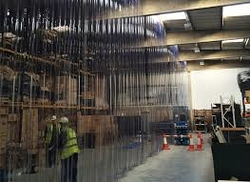 Transparent PVC Strip traders in Qatar