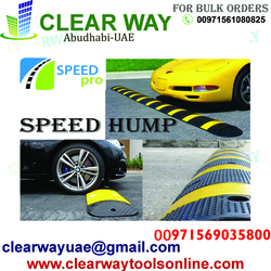 SPEED PRO SPEED HUMP DEALER IN MUSSAFAH , ABUDHABI ,UAE from CLEAR WAY BUILDING MATERIALS TRADING