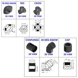 Socket-Welding Fittings from ARCELLOR CONTROLS (INDIA)