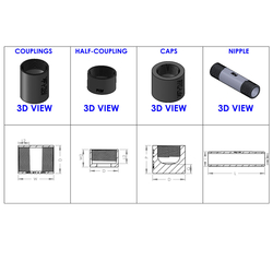 Threaded Fittings from ARCELLOR CONTROLS (INDIA)