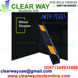 AUTO PERKS WHEEL STOPPER DEALER IN MUSSAFAH , ABUDHABI ,UAE from CLEAR WAY BUILDING MATERIALS TRADING