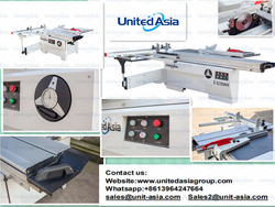 Woodworking sliding table panel saw machinery