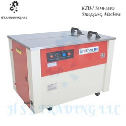 KZB-I Semi-auto Strapping Machine from H S S TRADING LLC