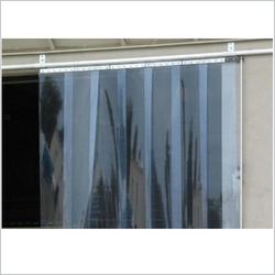 Standard Clear PVC Strip Curtain in Qatar