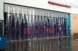 Standard Clear PVC Strip Curtain distributor in Qatar