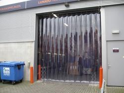 Standard Clear PVC Strip Curtain distributors in Qatar