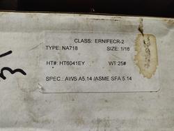 ERNIFECR-2 WELDING WIRE from SHANTI METAL SUPPLY CORPORATION