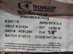 er347-16 welding wire from SHANTI METAL SUPPLY CORPORATION