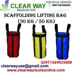 Scaffolding Lifting Bag Dealer In Mussafah , Abudhabi ,uae