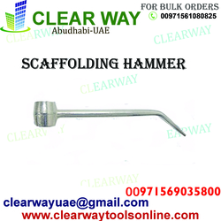 SCAFFOLDING HAMMER DEALER IN MUSSAFAH , ABUDHABI ,UAE from CLEAR WAY BUILDING MATERIALS TRADING