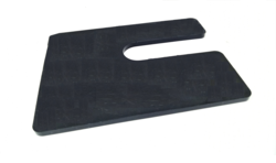 bpt 3mm U shim pad in UAE from AL BARSHAA PLASTIC PRODUCT COMPANY LLC