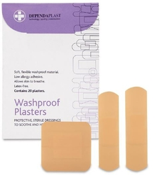 Dependaplast Washproof Plasters from ARASCA MEDICAL EQUIPMENT TRADING LLC