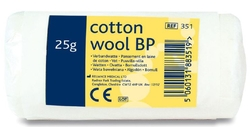 Cotton wool BP , 25GM from ARASCA MEDICAL EQUIPMENT TRADING LLC