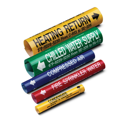 Adhesive pipe marker - FAS Arabia LLC from FAS ARABIA LLC