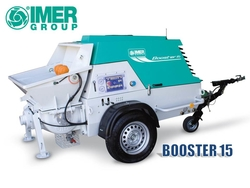 IMER BOOSTER 15 R - Piston Shotcrete Pump / Concrete Pump / Screed Pump from ELMEC EQUIPMENT TRADING LLC